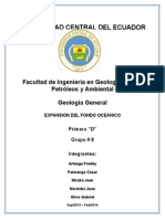 Grupo # 8 - Expansion Del Fondo Oceanico