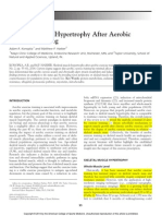 Skeletal Muscle Hypertrophy After Aerobic Exercise Training