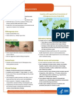 Chikungunya Fact sheet