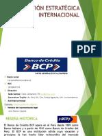 Gestión estratégica BCP (Año 2014)