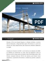 Apresentação Roberto Alves Ponte Rio Orinoco