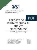 Informe Puente Cipresales