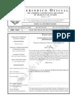 PROGRAMA DE DESARROLLO URBANO DE CENTRO DE POBLACIÓN ARIO DE ROSALES