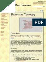 Profections Technique - Aux Mailles Godefroy
