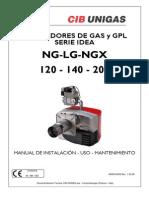 Manual Ng-lg 120 140 200 Quemador