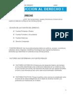 Introduccion Al Derecho i USAC