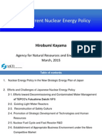 """Japan's current Nuclear Energy Policy"" - Hirobumi Kayama"
