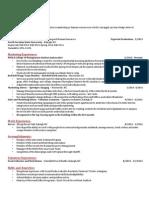 m100 resume portfolio assignment