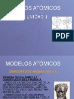 Unidad 4 Modelos Atomicos