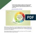 Xếp Hạng CPC Cost Per Click Theo Quốc Gia Của Google Adsense
