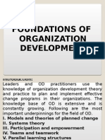 Foundation of Organization Development