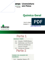 Unidade 4 - Geometria Molecular