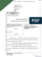 CLRB Hanson Industries, LLC et al v. Google Inc. - Document No. 62