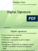 CHAPTER Digital Signature