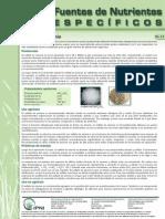 Articulo sobre el Amonio