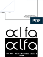 Revista Alfa