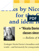 Books by Nicola Davies are perfect for the Common Core