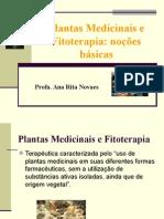 Noc3a7c3b5es de Fitoterapia e Plantas Medicinais