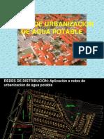 Redes Urbanizacion Agua Potable