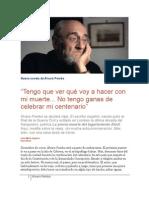 Álvaro Pombo y la vejez