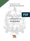 Caderno Pedagógico Matemática SC