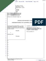 CLRB Hanson Industries, LLC et al v. Google Inc. - Document No. 66