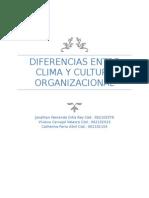 Clima y Cultrura