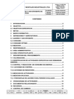 Dg-HSE-026 Programa de Ahorro y Uso Eficiente de Energía