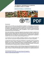 """""""REDUCCIÓN DE PÉRDIDAS Y DESPERDICIOS DE ALIMENTOS EN AMÉRICA LATINA Y EL CARIBE"""""""