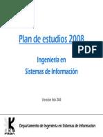 Plan de Estudios 2008 Version 9
