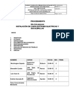 Instructivo de Canalizaciones Elec y Escalerillas Rev 2 - JZ-GC