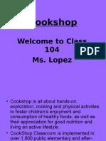 cookshop slide show