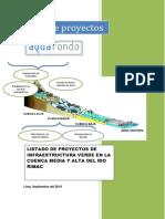 Portafolio de Proyectos_SEDAPAL SEP 2014 Vf