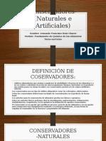 Conservadores- (Naturales e Artificiales).pptx