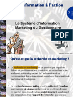 Seance 2 Le Processus de La Recherche en Marketing