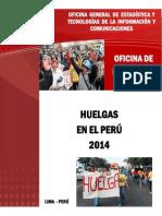 Huelgas Peru 2014