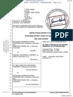 Netscape Communications Corporation et al v. Federal Insurance Company et al - Document No. 49