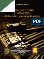 Arias, Albeiro. POESÍA DEL TOLIMA (1905-1955)