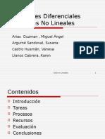 Ecuaciones Diferenciales Ordinarias No Lineales Webquest1