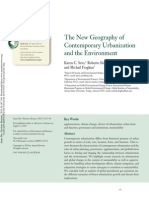 The New Geography of Contemporary Urbanization and the Environment