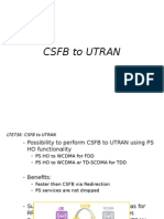 Csfb to Utran