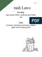 trash rules