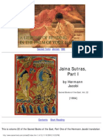 Jaina Sutras, Part I