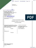 CLRB Hanson Industries, LLC et al v. Google Inc. - Document No. 73