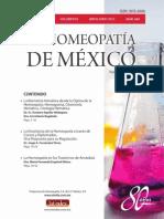 La Homeopatía de México, no. 684 (mayo-junio de 2013)