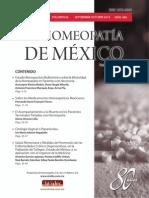 La Homeopatía de México, no. 686 (septiembre-octubre de 2013)
