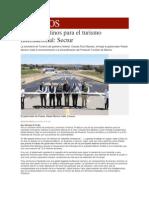 31-03-2015 Milenio - Puebla, Destinos Para El Turismo Internacional; Sectur