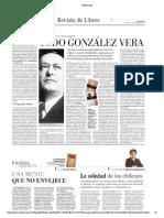 González Vera en el Mercurio