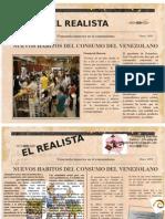 El Consumismo en Venezuela