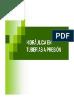 Hidraulica En Tuberias a Presion
